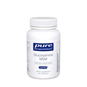 Glucosamine MSM 60c by Pure Encapsulations
