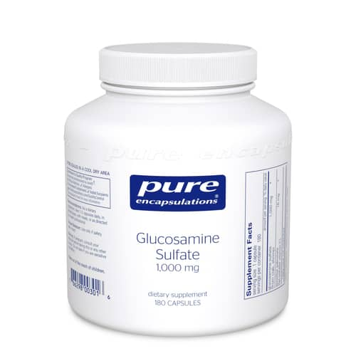 Glucosamine Sulfate 1000mg 180c by Pure Encapsulations
