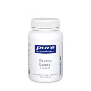 Glucose Support Formula 60caps by Pure Encapsulations
