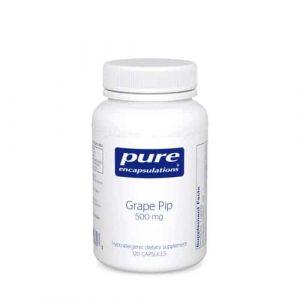 Grape Pip 500mg 120c by Pure Encapsulations