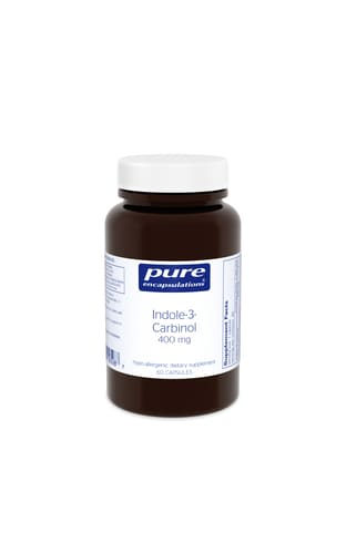 Indole-3-Carbinol 400mg 60's by Pure Encapsulations