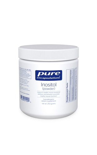 Inositol Powder 250g by Pure Encapsulations