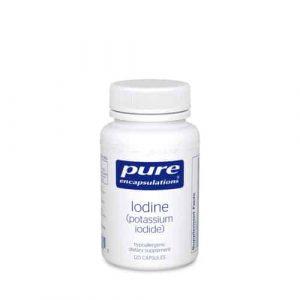 Iodine (Potassium Iodide) 120c by Pure Encapsulations