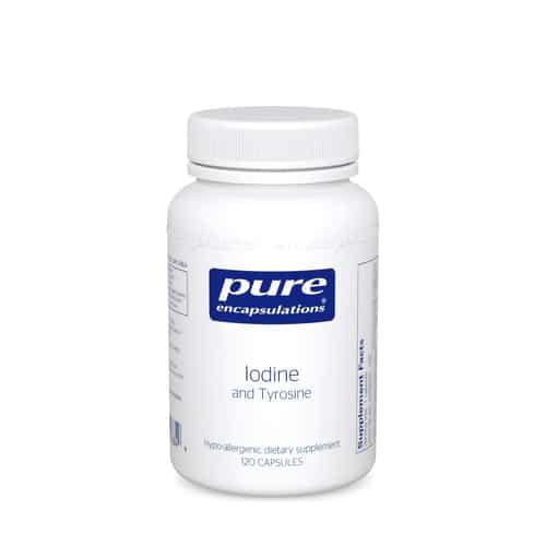 Iodine & Tyrosine 120caps by Pure Encapsulations