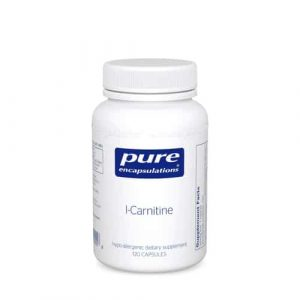 L-Carnitine 120caps by Pure Encapsulations