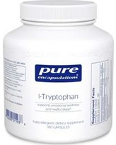 L-Tryptophan (500mg) 180c by Pure Encapsulations