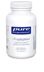 L-Tryptophan (500mg) 90c by Pure Encapsulations
