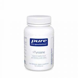 L-Tyrosine 650mg 90caps by Pure Encapsulations