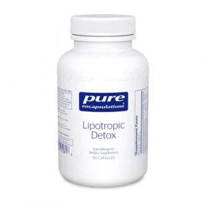 Lipotropic Detox 120c by Pure Encapsulations