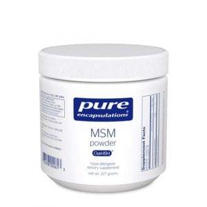 MSM Powder 227g by Pure Encapsulations