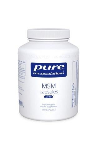 MSM capsules 360c by Pure Encapsulations