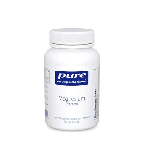 Magnesium (Citrate) 90c by Pure Encapsulations