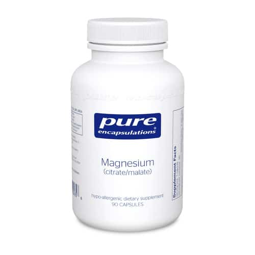 Magnesium (Citrate/Malate) 90c by Pure Encapsulations
