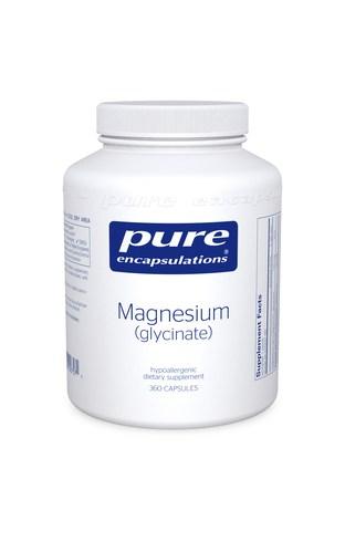 Magnesium (Glycinate) 360c by Pure Encapsulations
