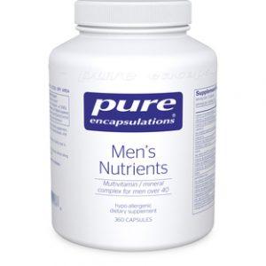 Men's Nutrients [40+] 360c by Pure Encapsulations