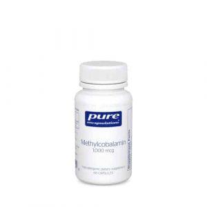 Methylcobalamin 1000mcg 60c by Pure Encapsulations