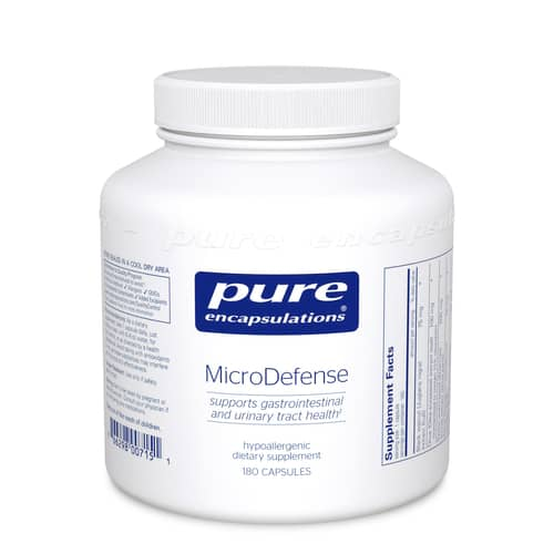 MicroDefense w/ Oregano 180c by Pure Encapsulations