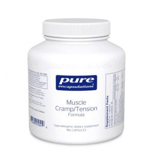 Muscle Cramp/Tension Formula 180caps by Pure Encapsulations