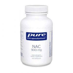 NAC (N-Acetyl-l-Cysteine) 900 mg 120c by Pure Encapsulations