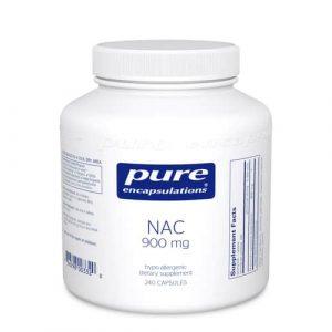 NAC (N-Acetyl-l-Cysteine) 900 mg 240c by Pure Encapsulations