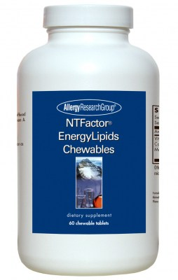 Ntfactor Energylipids 60 Chewable Wafers By Allergy Research Group