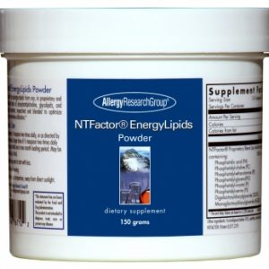 Ntfactor Energylipids Powder 150 Grams (5.3 Oz.) By Allergy Research Group