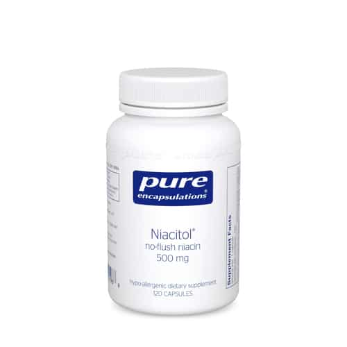 Niacitol 500mg 120c by Pure Encapsulations