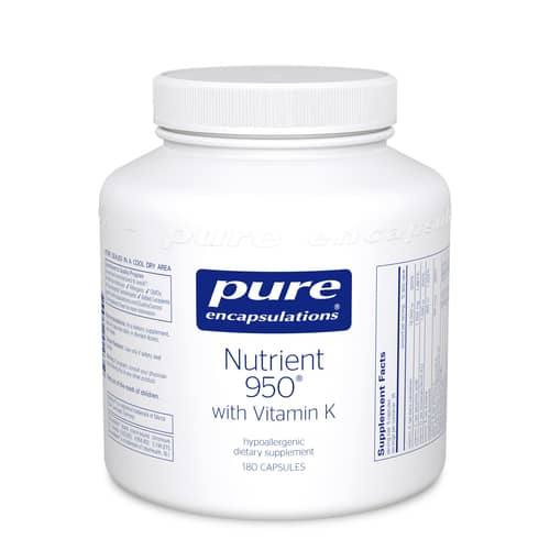 Nutrient 950 w/ Vitamin K 180c by Pure Encapsulations