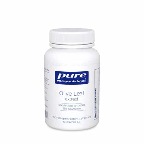 Olive Leaf extract 60c by Pure Encapsulations