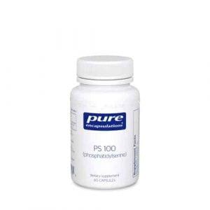 PS 100 (phosphatidylserine) 60c by Pure Encapsulations