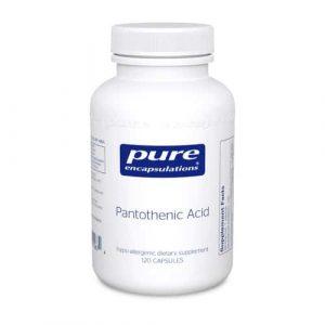 Pantothenic Acid 120c by Pure Encapsulations