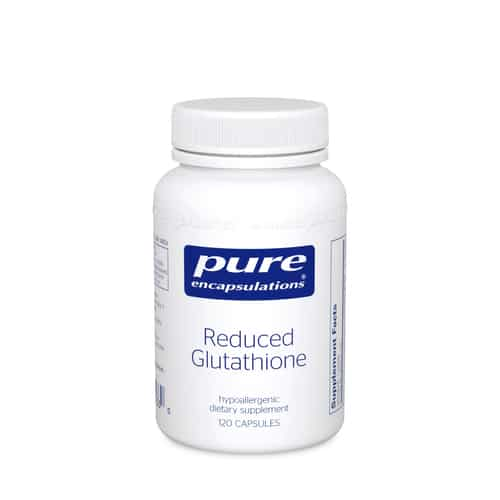 Reduced Glutathione 120c by Pure Encapsulations