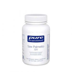 Saw Palmetto 320 120sg by Pure Encapsulations