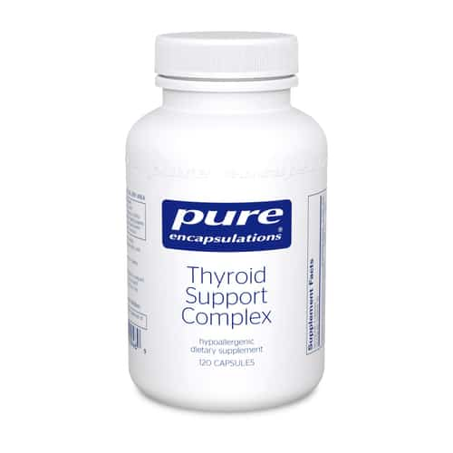 Thyroid Support Complex 120c by Pure Encapsulations