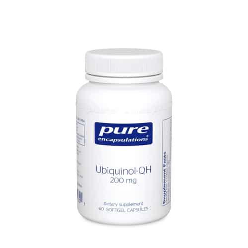 Ubiquinol-QH 200mg 60sg by Pure Encapsulations