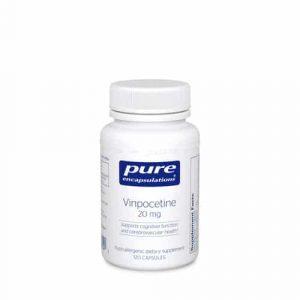 Vinpocetine 20mg 120c by Pure Encapsulations