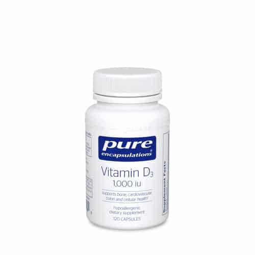 Vitamin D3 1000 i.u. 120c by Pure Encapsulations