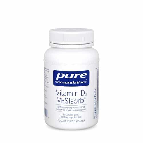 Vitamin D3 VESIsorb 60c by Pure Encapsulations