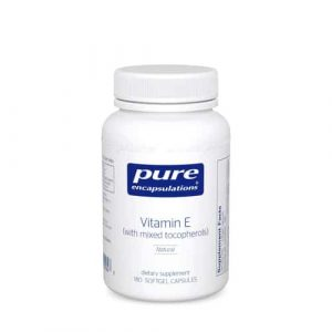 Vitamin E (mixed tocopherols) 180sg by Pure Encapsulations