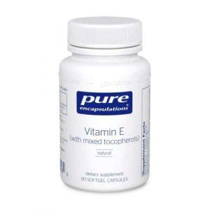 Vitamin E (mixed tocopherols) 90sg by Pure Encapsulations