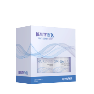 Beauty Box Omega Beauty Hair Growth 2 Bottles By Douglas Labs
