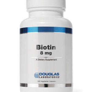 Biotin 8mg 120vcaps By Douglas Labs