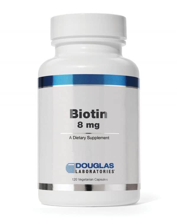 Biotin 8mg 120vcaps By Douglas Labs