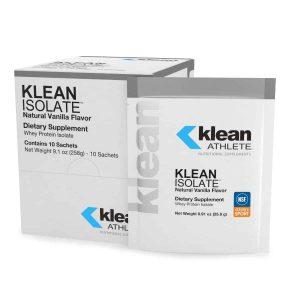 Klean Isolate Vanilla Natural Vanilla Flavor 516g By Douglas Labs