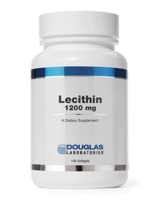 Lecithin 1200mg 100sgels By Douglas Labs