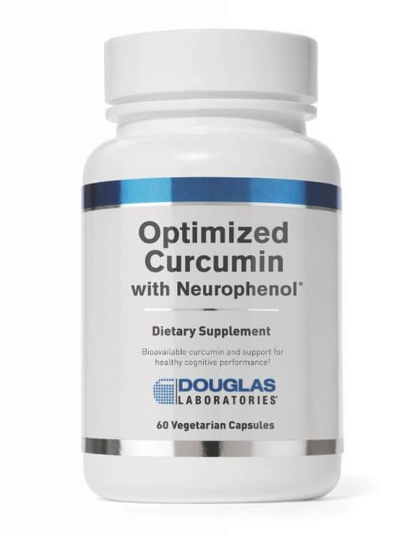 Optimized Curcumin With Neurophenol 60vcaps By Douglas Labs