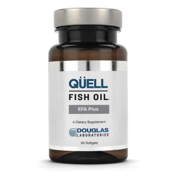 Quell Fish Oil Efa Plus 60sgels By Douglas Labs