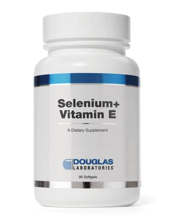 Selenium + Vitamin E Formula 90sgels By Douglas Labs