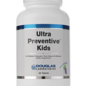 Ultra Preventive Kids Grape 60tabs By Douglas Labs