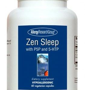 Zen Sleep With P5p And 5 Htp 60vcaps By Allergy Research Group
